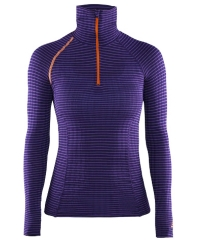 Жіноча термофутболка Craft Active Extreme Zip Turtle Neck LS Woman 2463